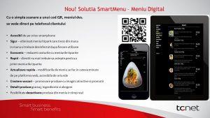 Meniu digital restaurante